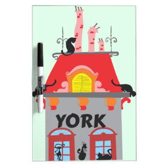 York Trockenlöschtafel