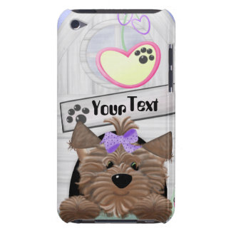 Yorkie Barely There iPod Cover