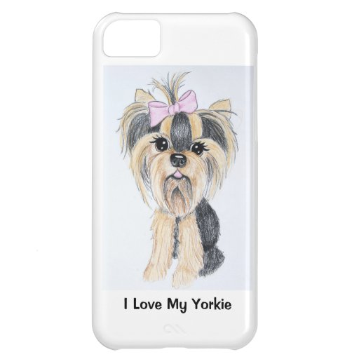 Yorkie iPhone 5 Fall iPhone 5C Hülle