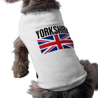 Yorkshire Ärmelfreies Hunde-Shirt