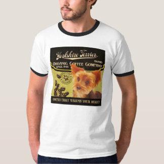 Yorkshire-Terrier-Marke - Organic Coffee Company T-Shirt