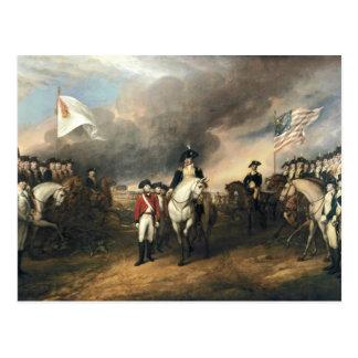 Yorktown Auslieferung durch John Trumbull Postkarte