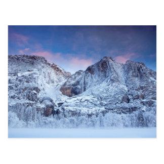 Yosemite- Fallssonnenaufgang Postkarte