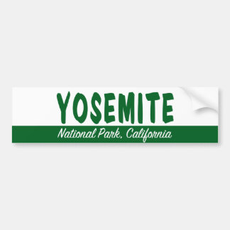 Yosemite Nationalpark Autoaufkleber