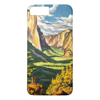 Yosemite Nationalpark Kalifornien-Reise-Kunst iPhone 8 Plus/7 Plus Hülle