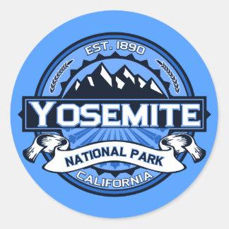 Yosemite Nationalpark Logo Runder Aufkleber