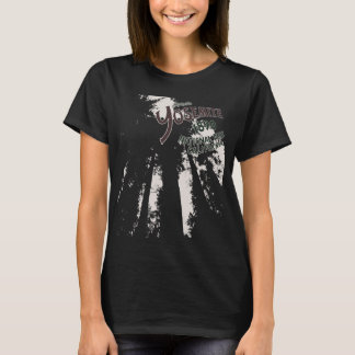 Yosemite Nationalpark Mammutbaum-T-Shirt T-Shirt