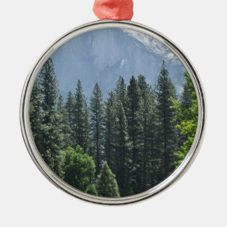 Yosemite Nationalpark Silbernes Ornament