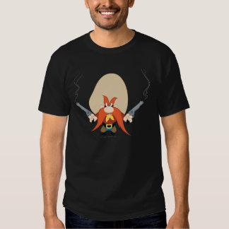 Yosemite Sam ziehen sich zurück T-shirts