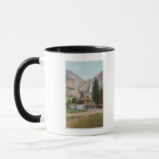Yosemite-Tal-Speicher und Post Tasse