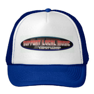 Youngstown lokales Musik-Baseballmütze-Blau Kultcaps