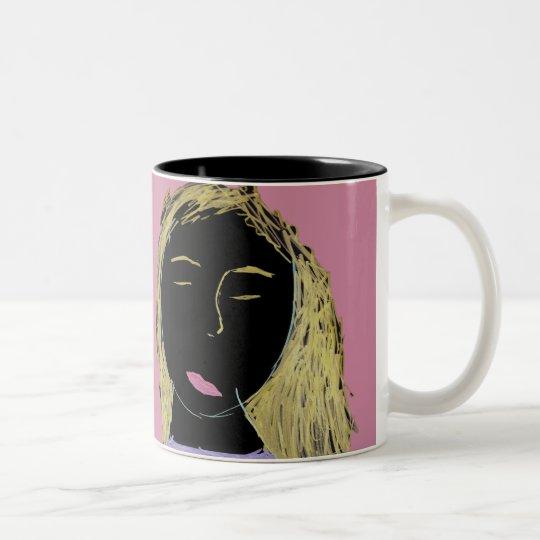 You're Beautiful!  Coffee-/Tea Mug Zweifarbige Tasse