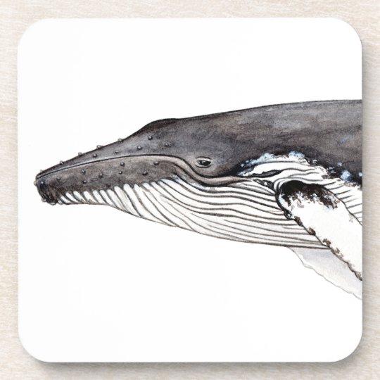 Yubarta, buckliger Wal, Untersetzer