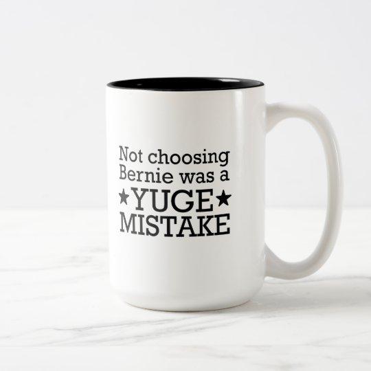 Yuge Fehler Zweifarbige Tasse