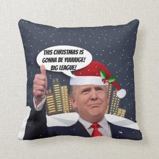 Yuge Weihnachten! Donald- Kissen
