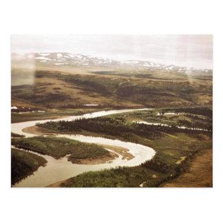 Yukon-Dreieck Postkarte