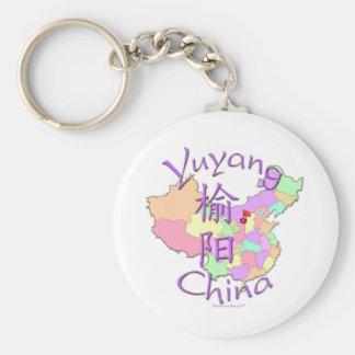 Yuyang, Chine Porte-clé