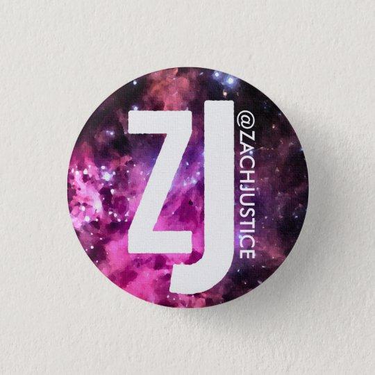 Zach Gerechtigkeits-Galaxie-Knopf Runder Button 2,5 Cm