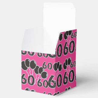 ZACKEN Sie 60. Geburtstags-Gastgeschenk-Kasten aus Geschenkschachtel