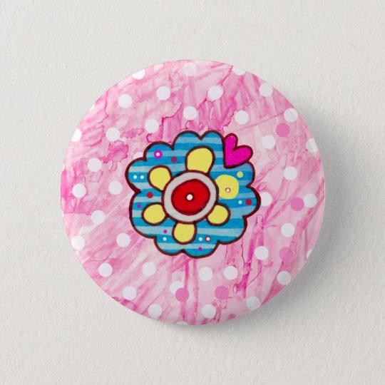 Zacken Sie mich Bonbon aus Runder Button 5,7 Cm