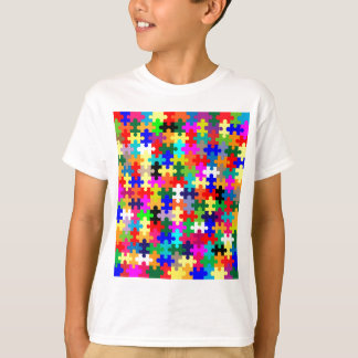 Zackige Stücke in der Farbe T-Shirt
