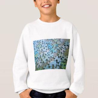 Zackige Stücke Sweatshirt
