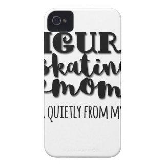 Zahl Skaten-Mamma-Geschenk iPhone 4 Cover