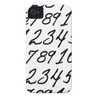 Zahlen auf Wiederholung iPhone 4 Case-Mate Hüllen