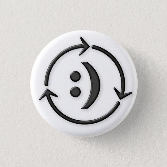 Zahlen Sie ihm VorwärtsButton Runder Button 2,5 Cm