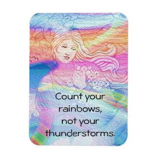 Zählen Sie Ihre Regenbogen, nicht Ihre Gewitter Magnet