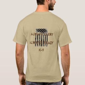Zählung auf Shirt K9