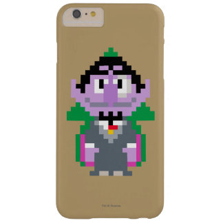 Zählung von Pixel Art Barely There iPhone 6 Plus Hülle