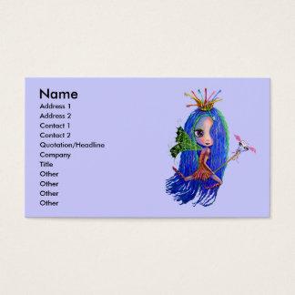 Zahn-Fee-Zahnarzt-Hygieniker-Visitenkarte Visitenkarte