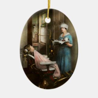 Zahnarzt - des Patienten ist ein Vorzug 1920 Keramik Ornament