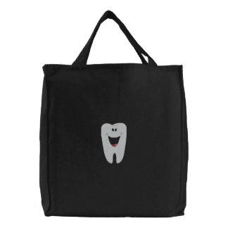 Zahnarzt gestickte Tasche
