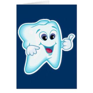 Zahnarzthelfer Grußkarte