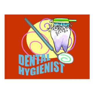 Zahnarzthelfer Postkarte