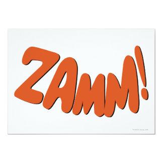 ZAMM! PERSONALISIERTE EINLADUNGEN