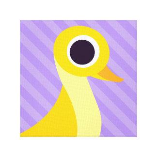 Zander die Ente Gespannte Galeriedrucke