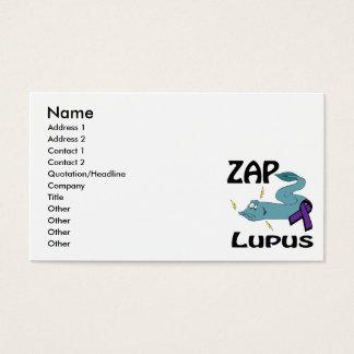 ZAP den Lupus (lila) Visitenkarte