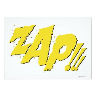 ZAP!!! INDIVIDUELLE EINLADUNGSKARTEN