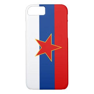 Zastava Srbije, serbische Flagge iPhone 8/7 Hülle
