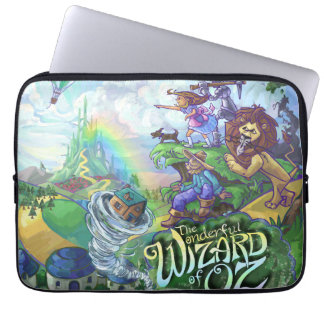 Zauberer von Oz Laptopschutzhülle