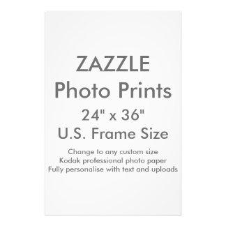 """Zazzle Gewohnheit 24"""" x 6"""" Foto-Druck Fotodruck"""