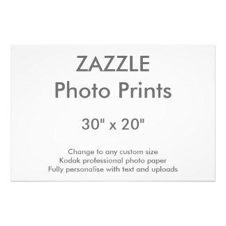 "Zazzle Gewohnheit 30"" x 20"" Foto-Druck 76 x 51 cm Fotodruck"