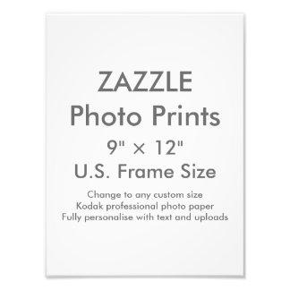"""Zazzle Gewohnheit 9"""" × 12"""" Foto-Druck Photo Drucke"""