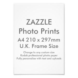 Zazzle kundenspezifischer Druck-BRITISCHE Fotodruck