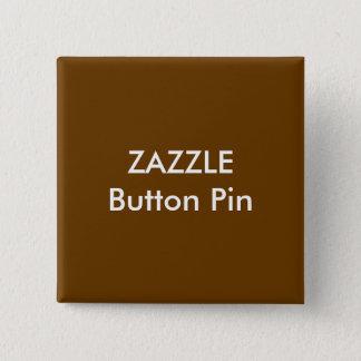 Zazzle kundenspezifischer quadratischer quadratischer button 5,1 cm
