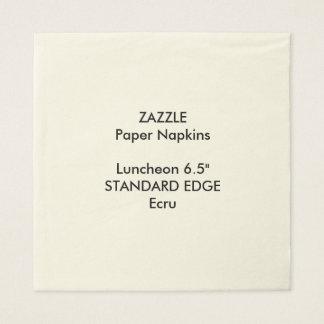ZAZZLE kundenspezifisches einfaches Papierservietten