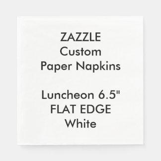 Zazzle kundenspezifisches einfaches servietten